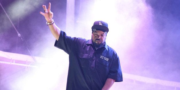 MANCHESTER, TN - JUNE 13:  Hip hop artist Ice Cube performs at the Bonnaroo Music & Arts Festival on June 13, 2014 in Manches