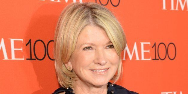 NEW YORK, NY - APRIL 21:  Martha Stewart attends TIME 100 Gala, TIME's 100 Most Influential People In The World at Jazz at Li