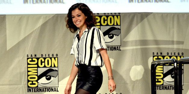 SAN DIEGO, CA - JULY 26:  Actress Tatiana Maslany attends Entertainment Weekly: Women Who Kick Ass panel and presentation and