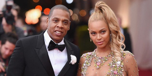 NEW YORK, NY - MAY 04:  Jay Z (L) and Beyonce attend the 'China: Through The Looking Glass' Costume Institute Benefit Gala at