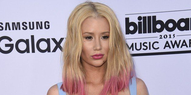 Iggy Azalea attend the 2015 Billboard Music Awards, May 17, 2015, at the MGM Grand Garden Arena in Las Vegas, Nevada.  AFP PH