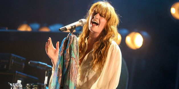 Florence Welch of Florence And The Machine performs at the 2015 Coachella Music and Arts Festival on Sunday, April 19, 2015,