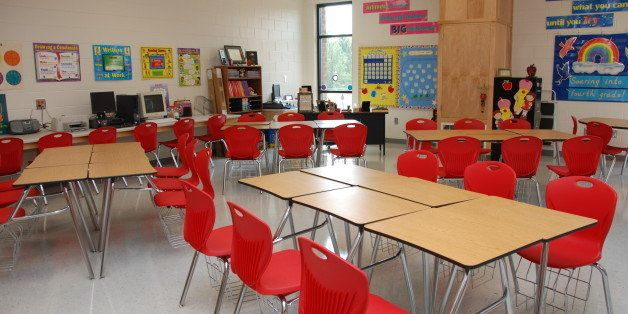 These classrooms were decorated before the Dedication Ceremony on July 24, 2008.