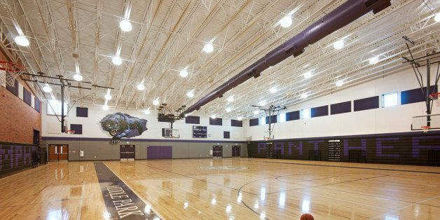 Gymnasium at Middle Park High School