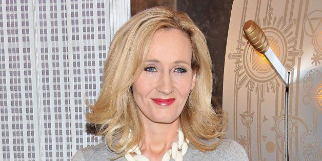 NEW YORK, NY - APRIL 09:  Founder and President of Lumos and Patron of Lumos USA/ Author J.K. Rowling ceremoniously lights th