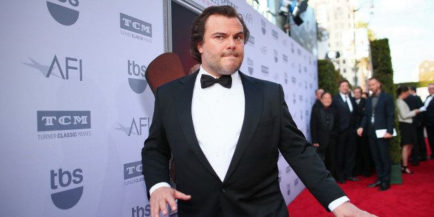 HOLLYWOOD, CA - JUNE 04:  Actor Jack Black attends the 2015 AFI Life Achievement Award Gala Tribute Honoring Steve Martin at