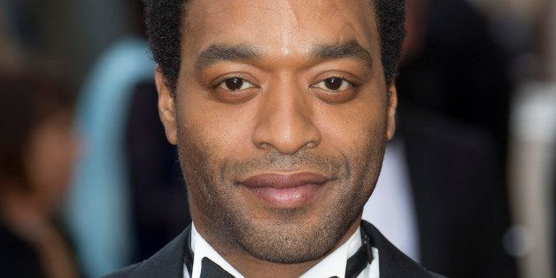 LONDON, UNITED KINGDOM - APRIL 12: Chiwetel Ejiofor attends The Olivier Awards at The Royal Opera House on April 12, 2015 in