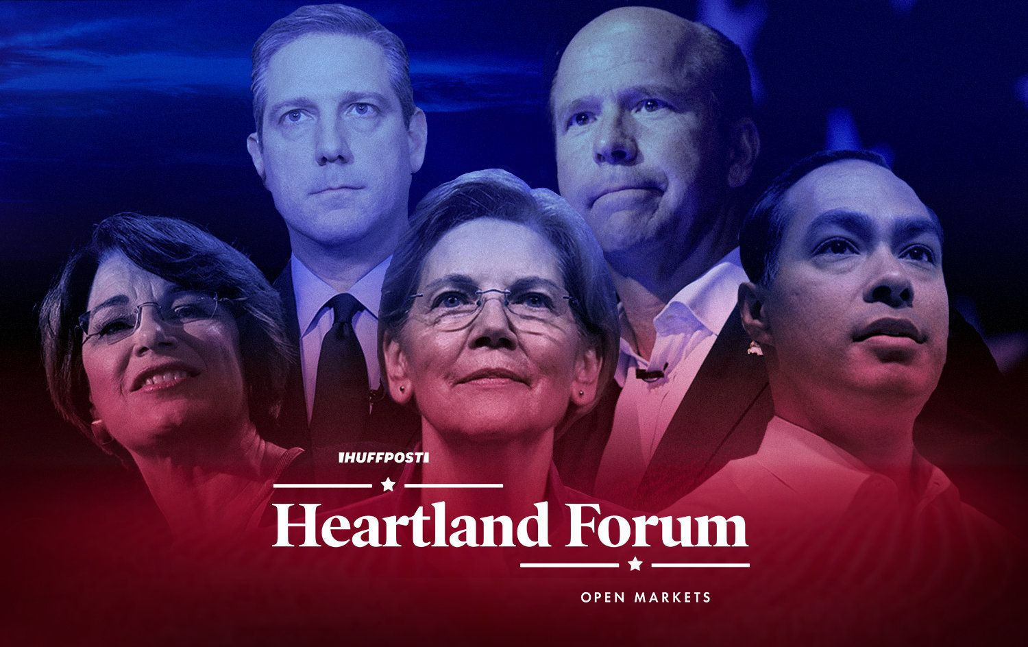 Heartland Forum candidates and branding