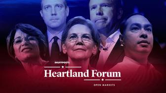 Heartland Forum candidates and branding