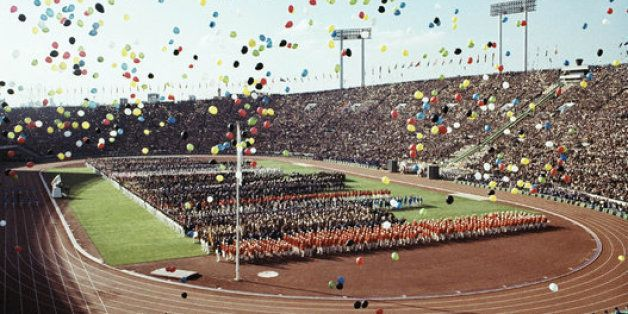 This Is What The Tokyo Olympic Games Looked Like In