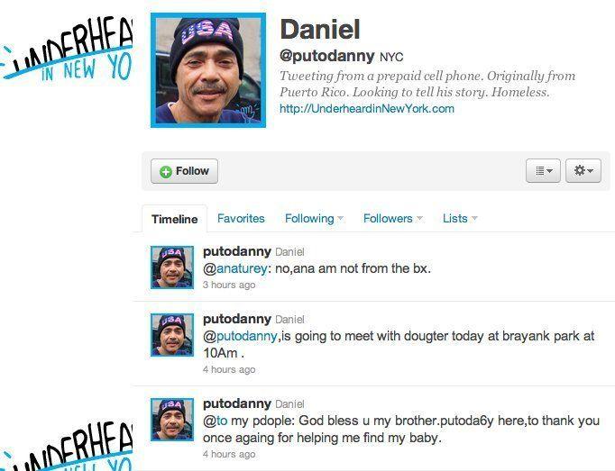 Tremendous Nyc Homeless Man Finds Daughter Through Twitter Video Interior Design Ideas Inesswwsoteloinfo