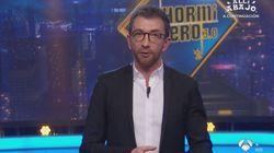 """El hachazo de Pablo Motos a Abascal al comienzo de 'El Hormiguero': """"Sé que eres"""