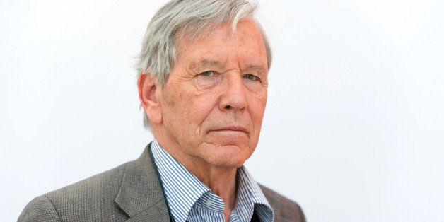 Israeli author Amos Oz attends the Leipzig book fair on March 14, 2013 in Leipzig, eastern Germany.  AFP PHOTO / MARC TIRL  G