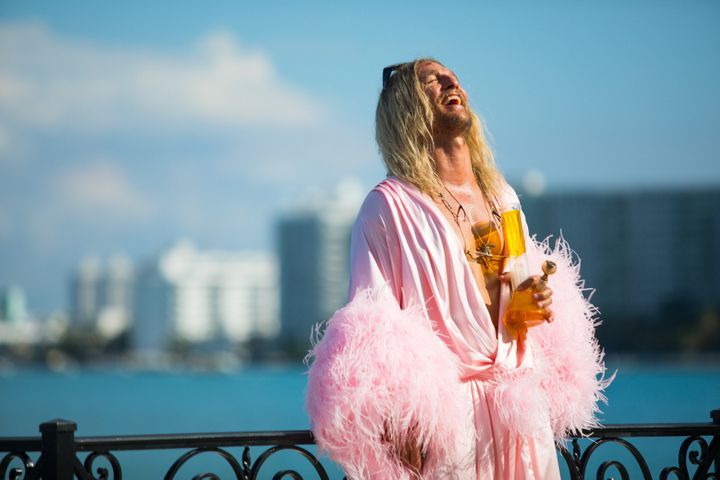 "Matthew McConaughey in ""The Beach Bum."""