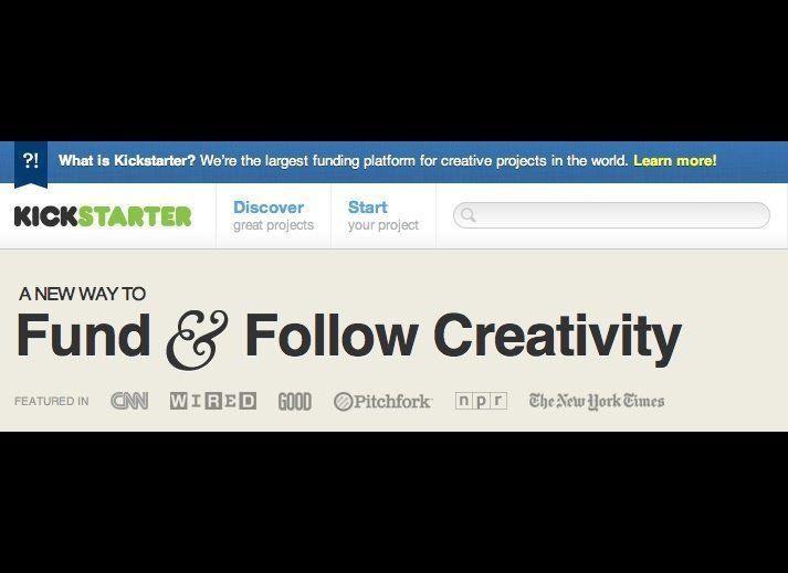 """<a href=""""http://www.kickstarter.com/"""" target=""""_hplink"""">Kickstarter</a>, a website that operates on an all-or-nothing crowdsou"""