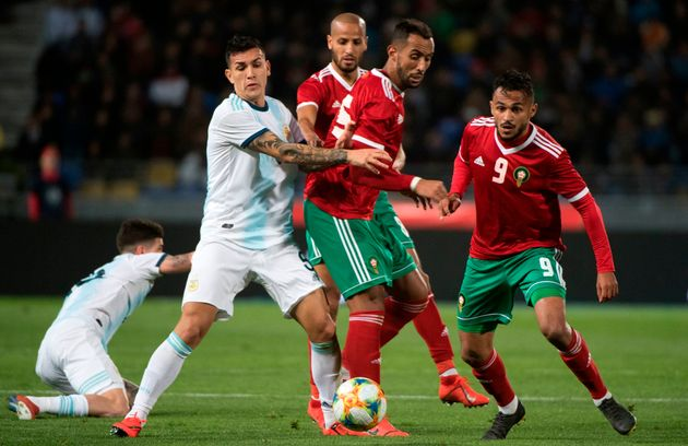 Le Maroc s'incline en amical face à l'Argentine par 1 but à