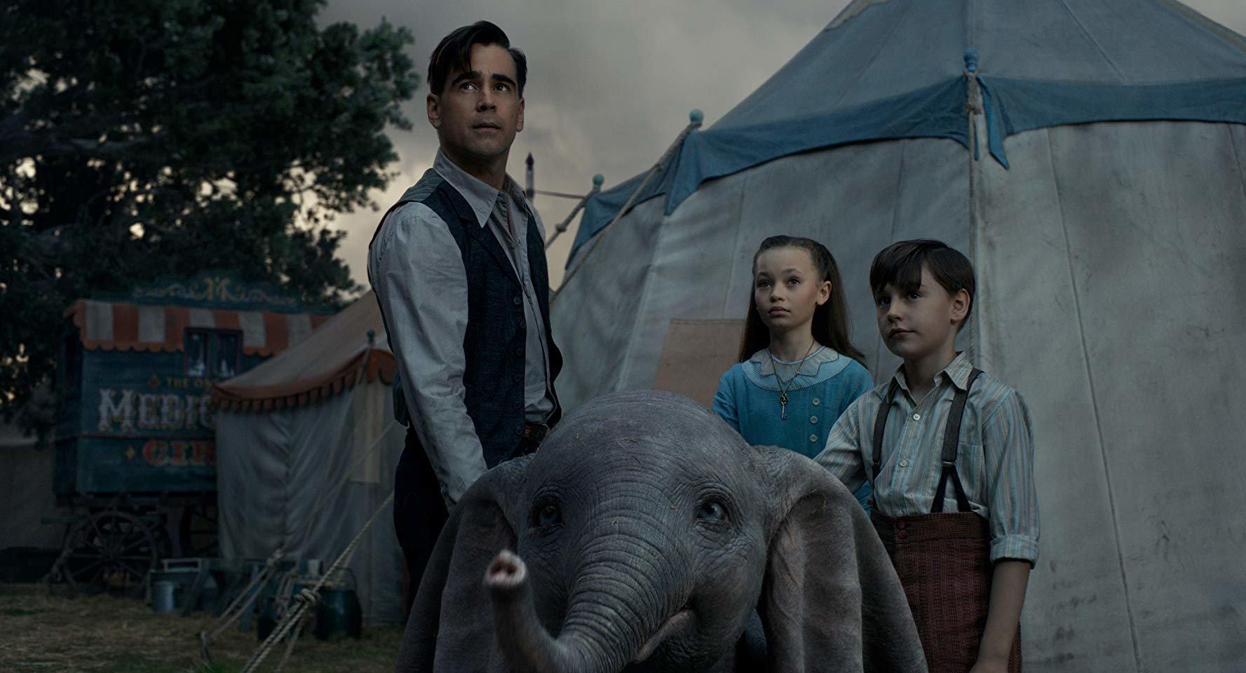 'Dumbo' é muito fofo; o que atrapalha o filme são os