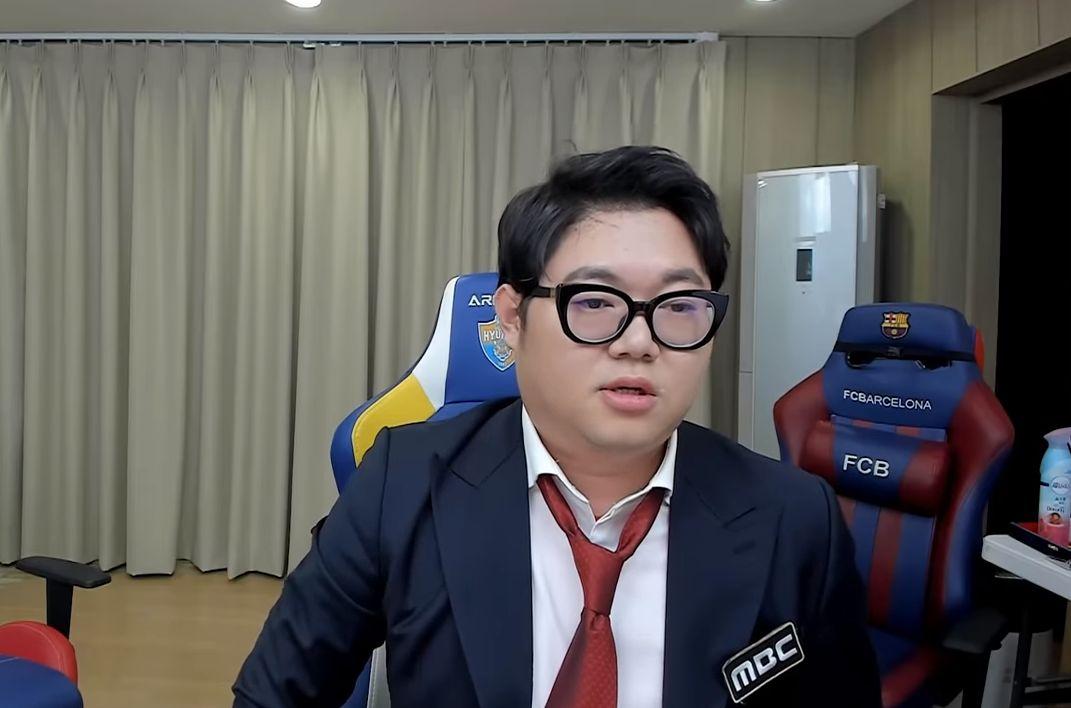'MBC 축구 중계 논란' 감스트가 시청자들에게