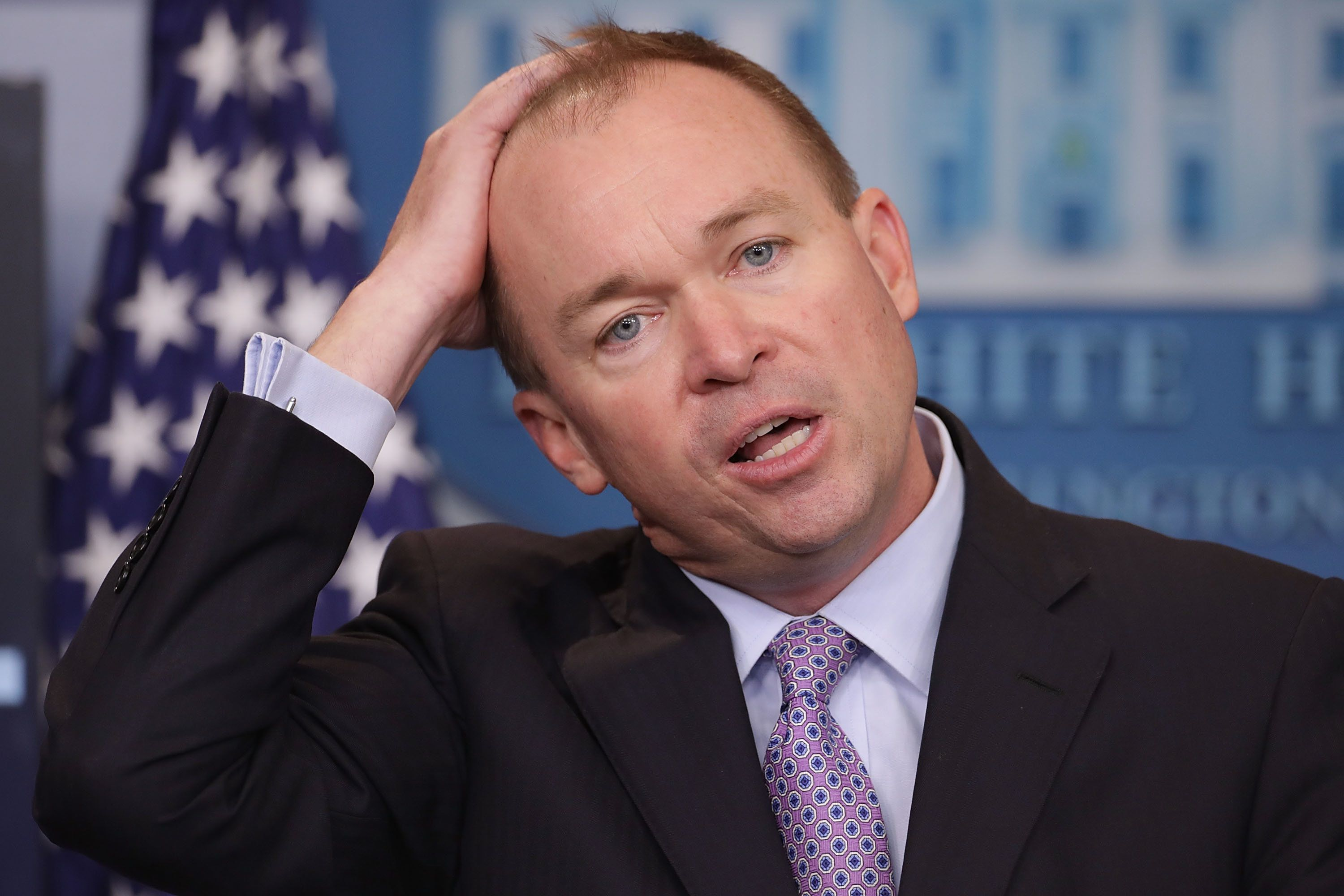 Mick Mulvaney Gets His Ass Kicked In His Private Trivia
