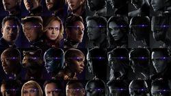 '어벤져스:엔드게임'의 캐릭터 포스터는 생사여부를 명확히