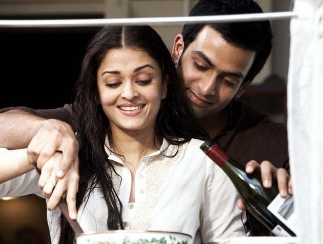 Prithviraj with Aishwarya Rai in