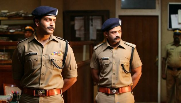 Prithviraj with Jayasurya in 'Mumbai