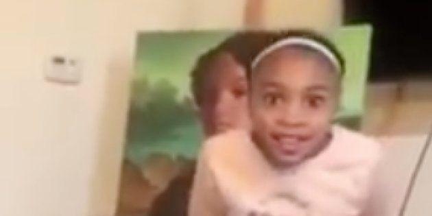 Alyssa a eu la chance d'être peinte en Mona Lisa par son père. Une œuvre qui a nécessité 400 heures de