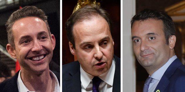 Ian Brossat, Jean-Christophe Lagarde, Florian