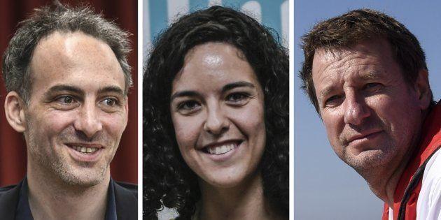 Raphaël Glucksmann, Manon Aubry et Yannick