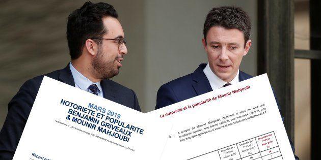 Entre Benjamin Griveaux et Mounir Mahjoubi, la guerre des sondages est
