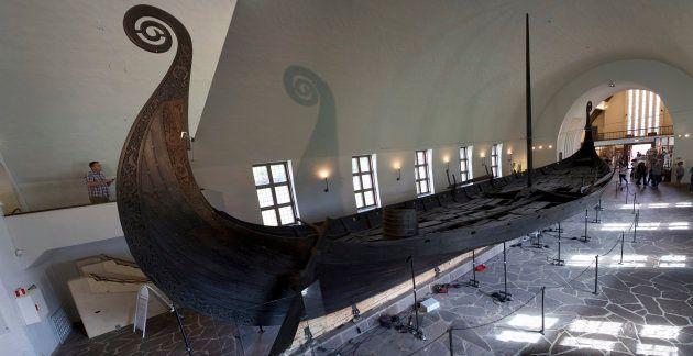 Le drakkar d'Oseberg, l'épave viking la plus connue, a été découverte en 1905. À son bord se trouvaient...