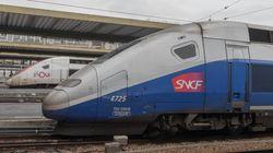 Le trafic TGV a été totalement interrompu entre Paris et le