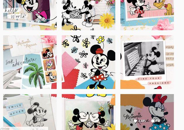 3月26日、ミニーが9枚の画像を投稿した