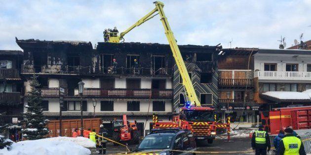 Le 20 janvier, le feu s'est déclaré dans cet ancien hôtel de