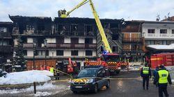 Un homme soupçonné dans l'incendie meurtrier à Courchevel placé en garde à