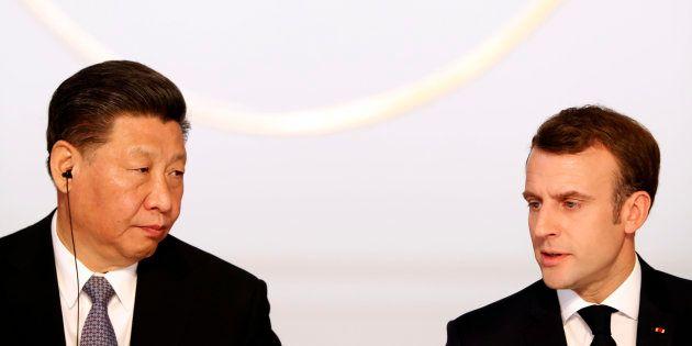 Macron demande à la Chine et Xi Jinping