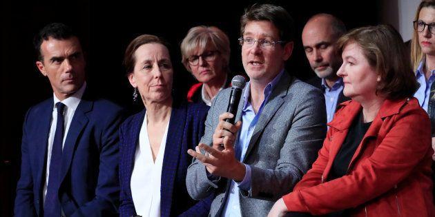 La liste LREM, ou l'auberge espagnole pour les Européennes (photo prise le 26 mars à