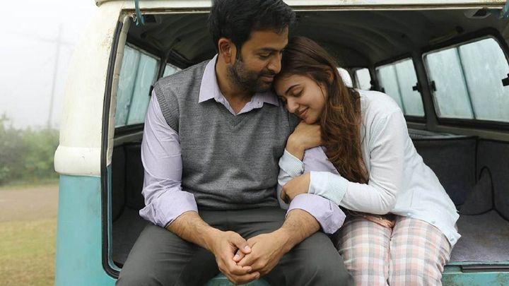 Prithviraj and Nazriya Nazim in 'Koode'.