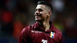 Les joueurs de foot du Venezuela ont joué avec des maillots