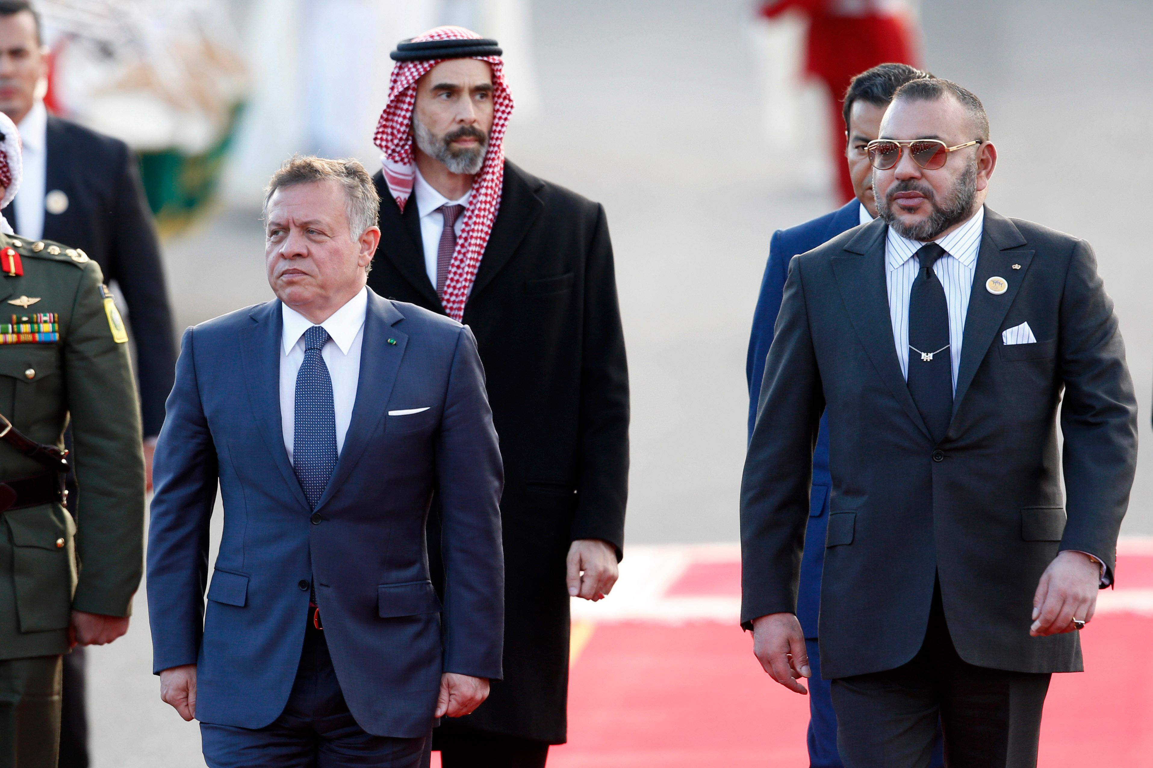 La Palestine au coeur des discussions entre Abdallah II de Jordanie et Mohammed