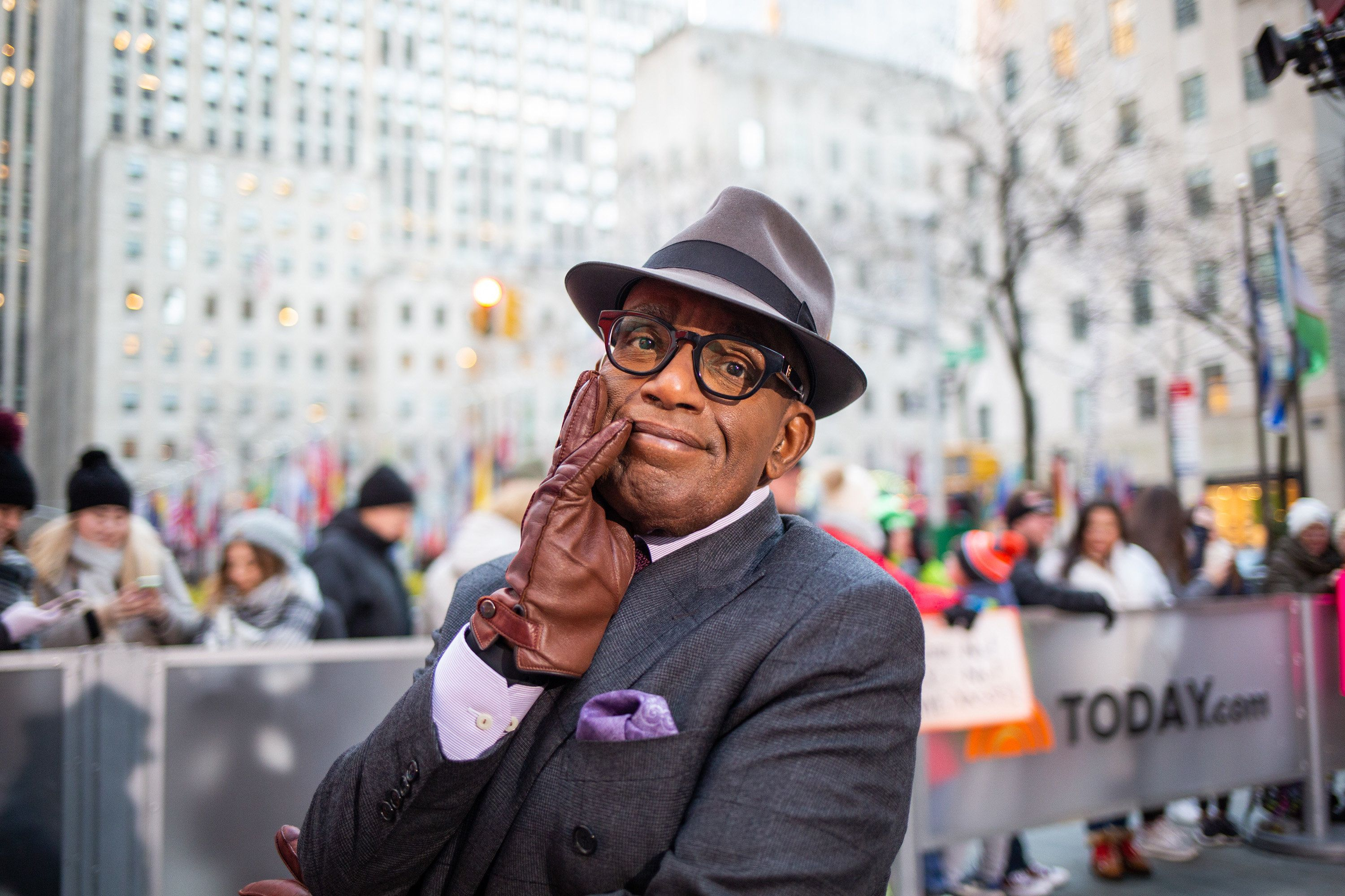 TODAY -- Pictured: Al Roker on Wednesday, January 9, 2019 -- (Photo by: Nathan Congleton/NBC/NBCU Photo Bank via Getty Images)