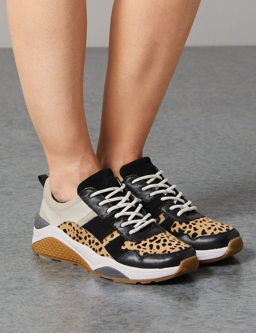 M\u0026S's Leopard Print Trainers Are Back
