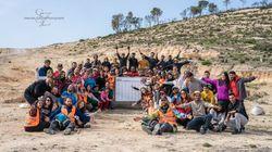 Kesra: Des bénévoles plantent des arbres après les ravages des