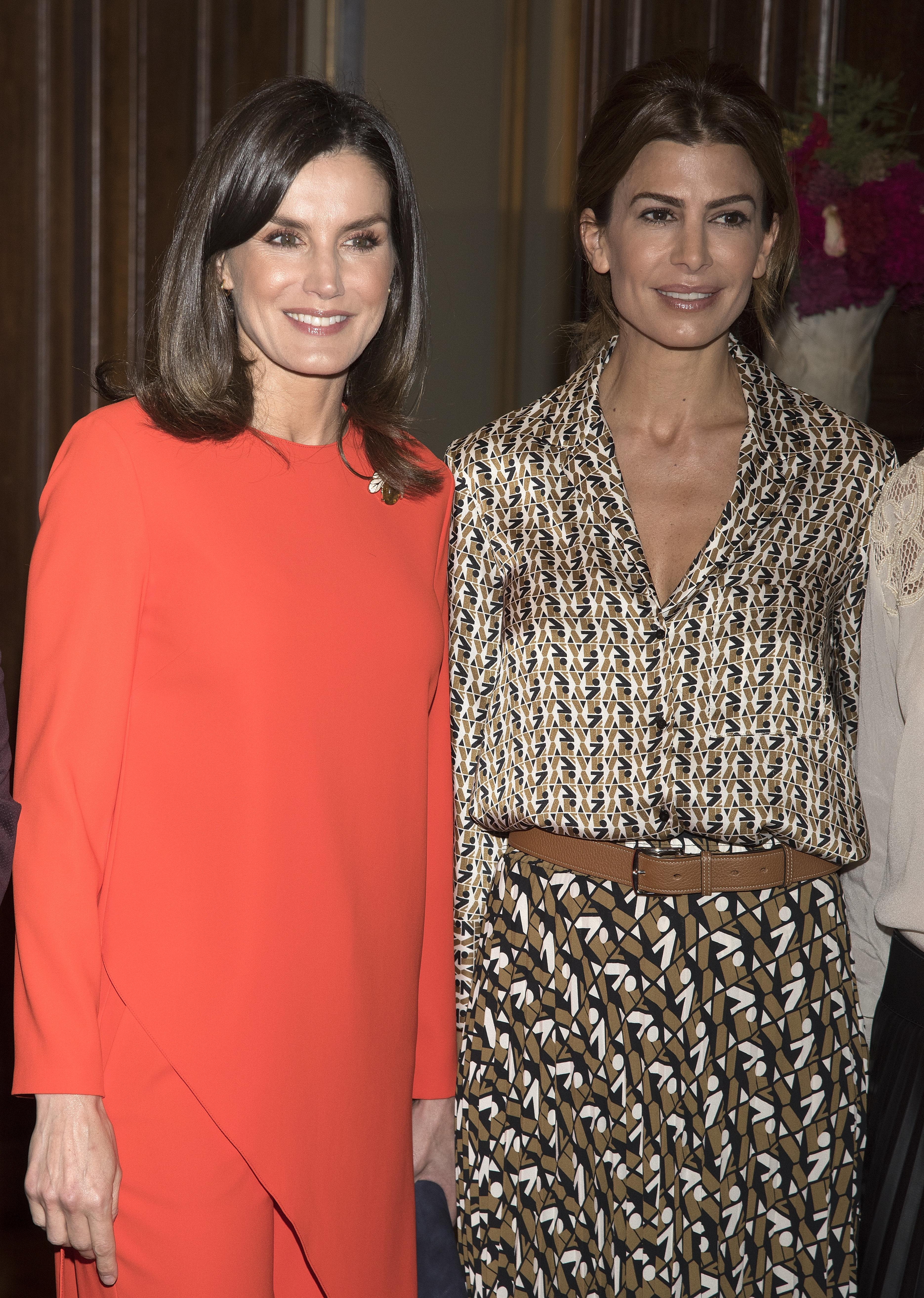 El guiño de la primera dama argentina a España durante la visita de la reina Letizia: no suele