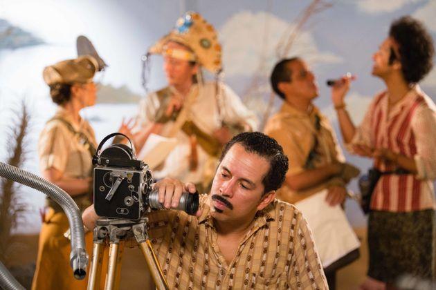 Em Cine Holliúdy 2 - A Chibata Sideral,Francisgleydisson (Edmilson Filho) filma produção...