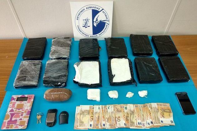 Η Αστυνομία εντόπισε 13 κιλά κοκαΐνης με υπογραφή…