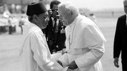 Les anecdotes de Hassan II sur la venue du pape Jean-Paul II au