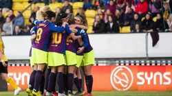 El Barça femenino vuelve a hacer su