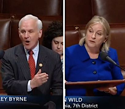 Rep. Bradley Byrne (R-Alabama) told Rep. Susan Wild (D-Penn.) multiple times that she did not understand a bill that aims to close the gender pay gap, which she co-sponsored.