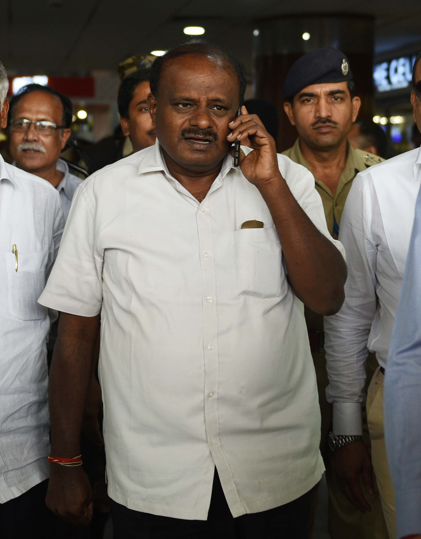 PM Modi's 'Real Surgical Strike': Kumaraswamy On IT Raid At Karnataka Minister's